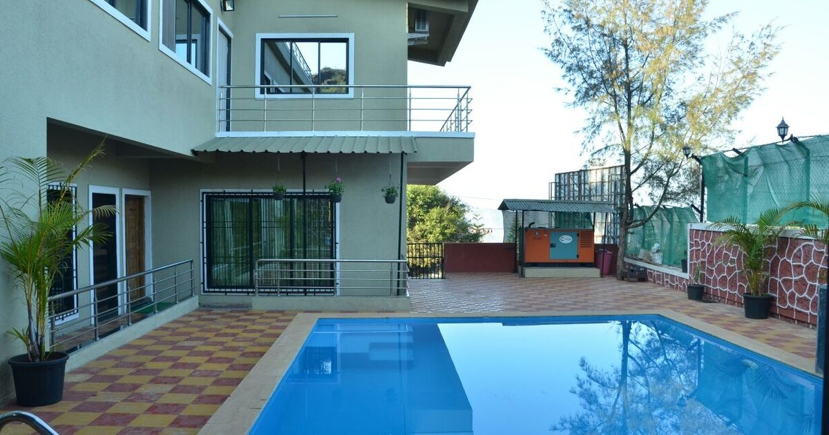 Mahabaleshwar panchgani www cozyholidays in bungalows villas on rent in lonavala for Lonavala bungalows with swimming pool for rent
